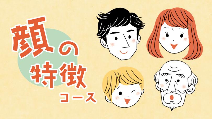 顔の特徴コース sensei by pixiv
