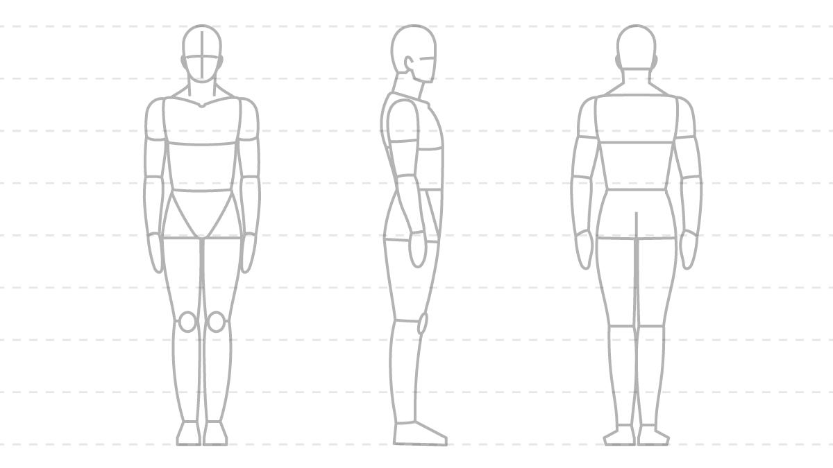 体のパーツコース 第3回 素体を描く Sensei By Pixiv
